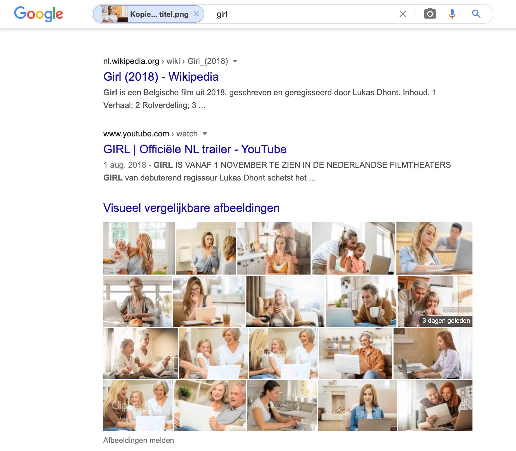 zoeken met een afbeelding